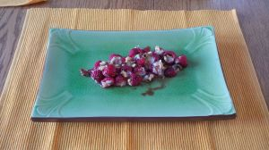 raspberry brie appetizer